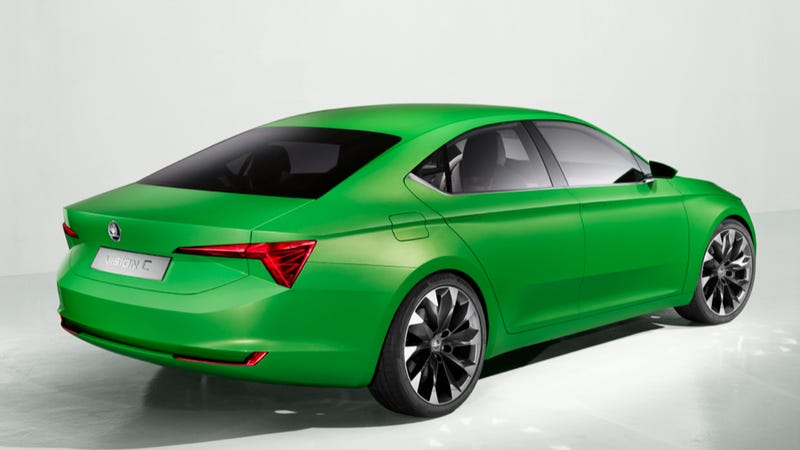 Skoda VisionC Concept Is The Great Looking Future Of VW's Best Brand