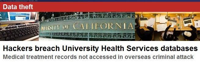 Hackers Break Into UC Berkeley's Database, Steal Nearly 100,000 Social Security Numbers