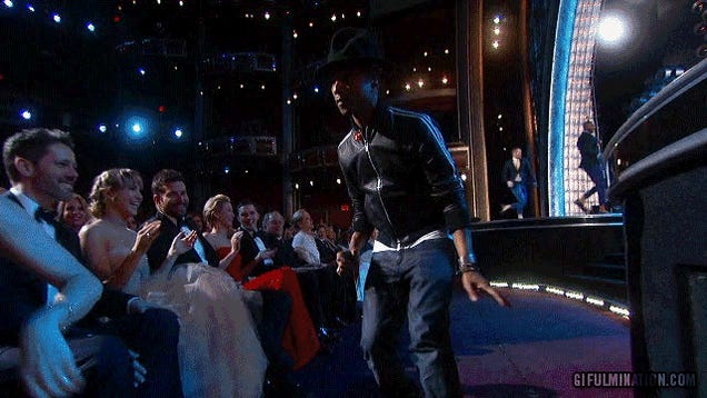 Pharrell's Awesome 'Happy' Performance Gets the Celebs Dancing