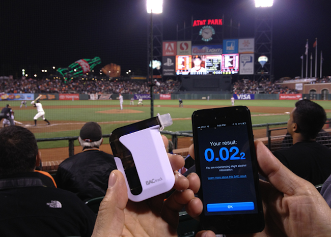 Get 33% Off BACtrack's iOS Enabled Breathalyzer