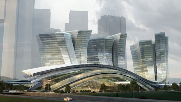 World's Largest Underground High-Speed Rail Station Will be Spectacular, Surreal-Looking