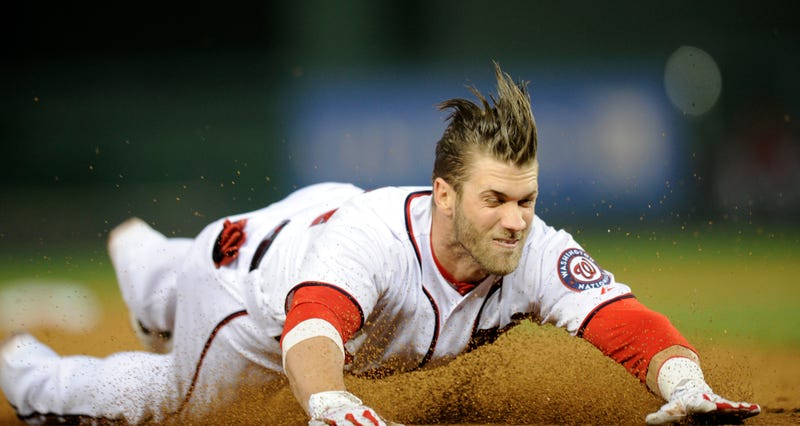 Bryce Harper Hits The DL After Sliding Head-First