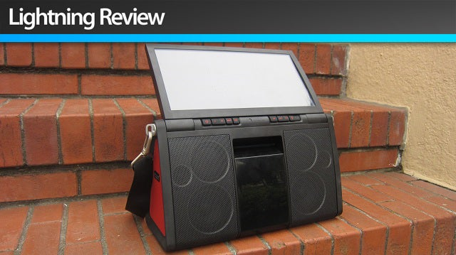Soulra XL: The 8-Hour Solar Sound System