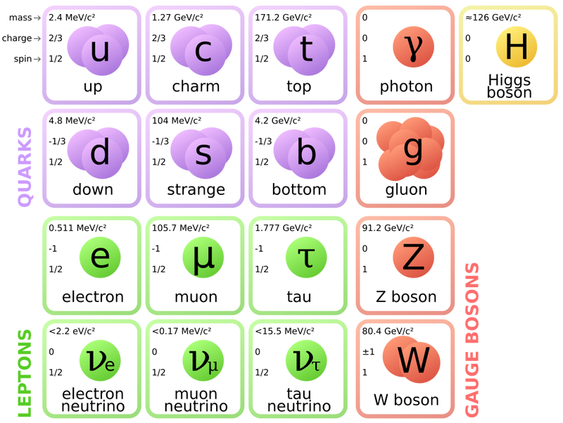 Where does the Standard Model of physics come from?
