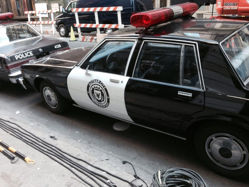 Gotham's Finest Are Driving Pretty Beat Cars These Days