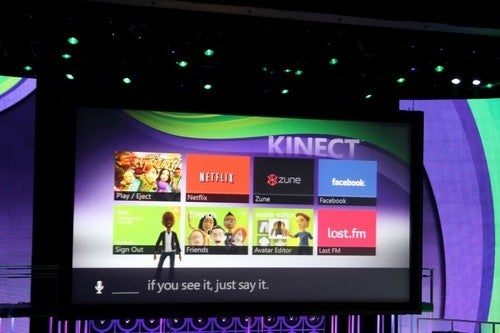 Kinect Brings Voice And Motion Control To Xbox Live