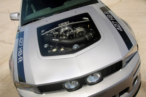 Mustang Window Hood May Ignite See-Through Hood Trend