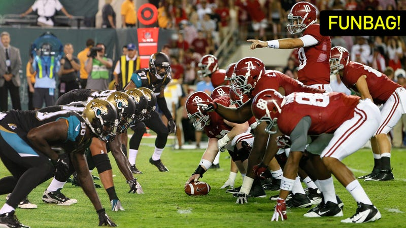 What Would A Jaguars-Alabama Betting Line Look Like?