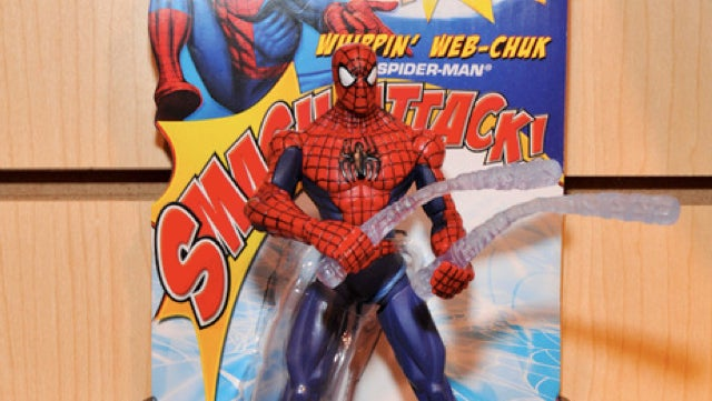 Possibly the most obscene Spider-Man toy of all time