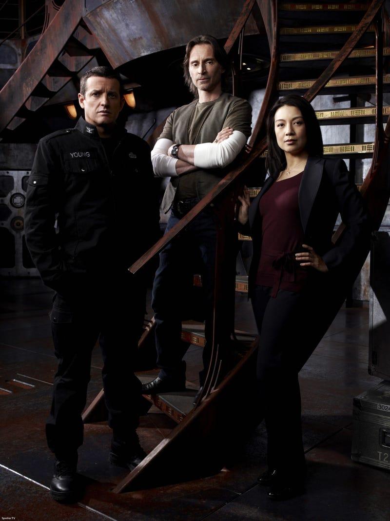 Stargate Universe Promo Pix