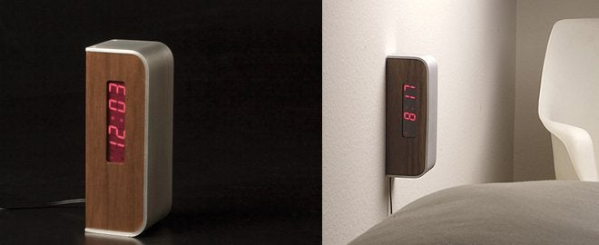 This Might Be the Most Ingenious Bedside Clock Ever