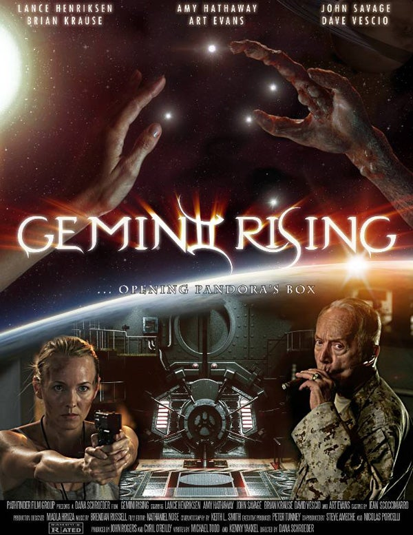 In the Gemini Rising trailer, Lance Henriksen goes back to what he does best — fighting aliens