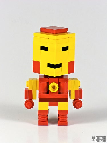 Pixar Animator Gives Characters a Lego Makeover
