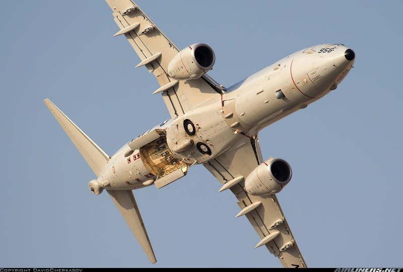 """A Very """"Intimate"""" View Of The Navy's New Star, The P-8 Poseidon"""