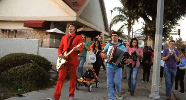 OK Go Takes to the Streets For Latest Music Video, Spells Name Using GPS Route