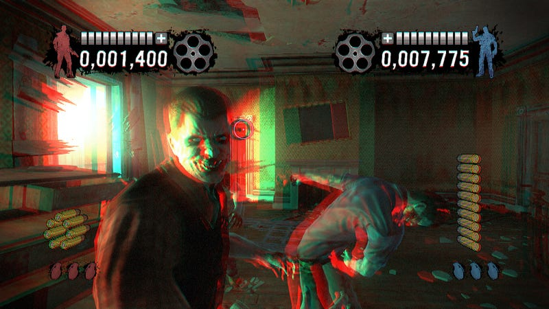 Even House of the Dead: Overkill Extended Cut's 3D is Adorably Retro