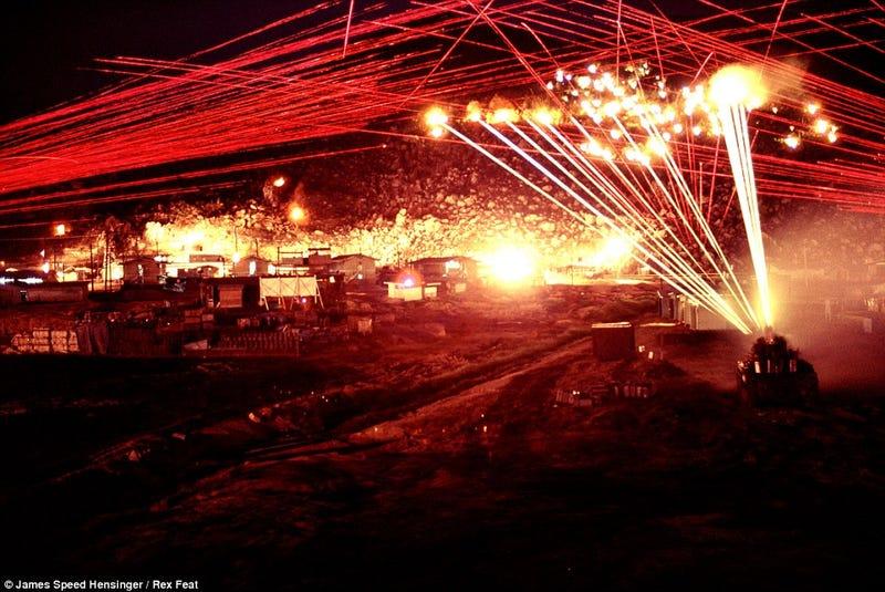 Previously unseen photos show a harrowing assault during Vietnam War