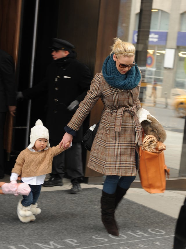 Boots & Camel Colors For Katherine Heigl & Naleigh