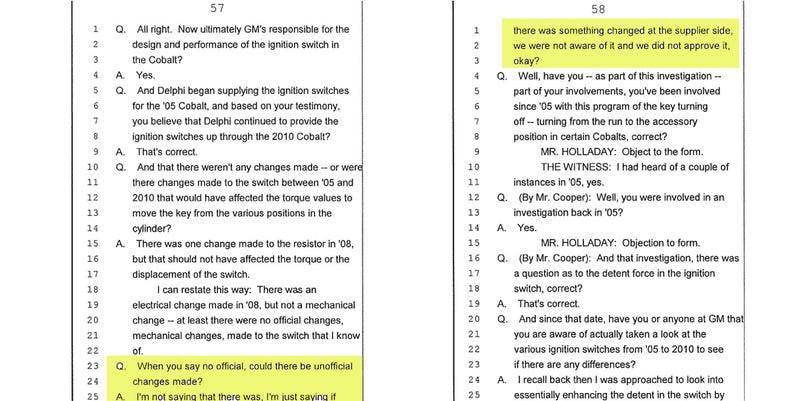 Here Are All The Damning Revelations From GM's Recall Documents