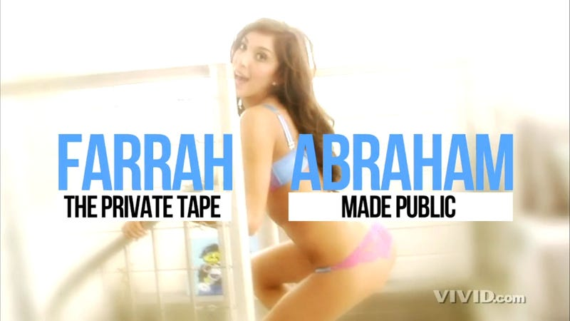Here's The First Clip From Farrah Abraham's 'Sex Tape' [NSFW]