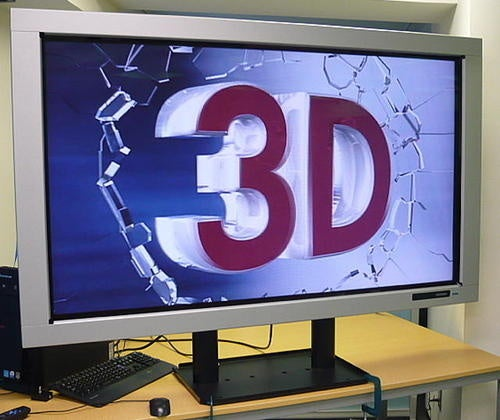 Hitachi Working On Glasses-Less 3D LCD