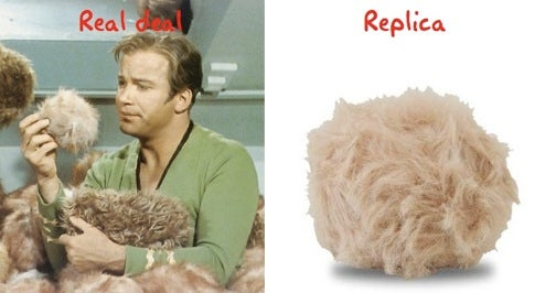 Star Trek Tribble Replica Wriggles and Coos, Won't Over-Run Your Home