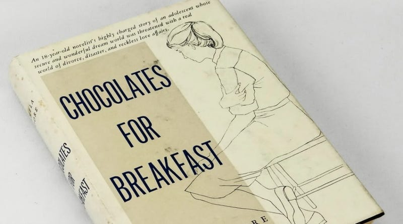 Harper Re-Releasing 1956 Coming-Of-Age Novel Chocolates For Breakfast