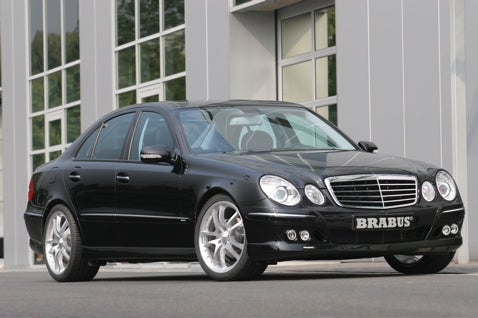 Mercedes E 300 BLUETEC Turbodiesel Gets A BRABUS Boost