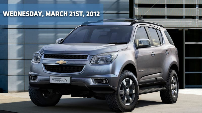 The Chevy Trailblazer Is Back, A Rolls Royce Hearse, And New Hyundai Sonata Coming In 2014