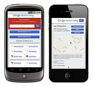 Use Google's Election Center Web App To Find Your Nearest Polling Place