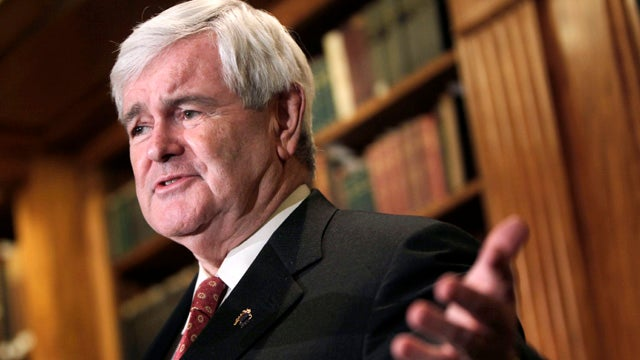 How Can Newt Gingrich Occupy Two Bathrooms Simultaneously?