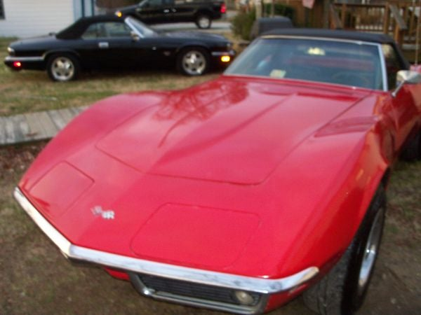 For $24,950, Little Red Corvette