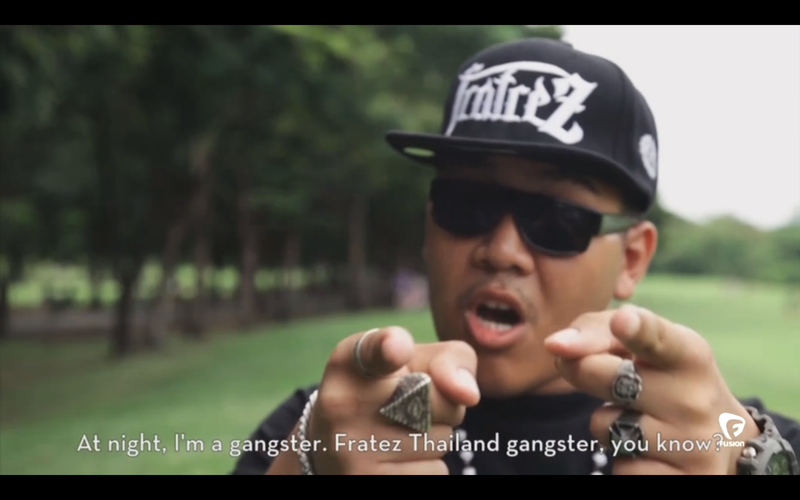 """Why Are So Many Thai Men Suddenly Dressing Up as """"Mexican Gangsters""""?"""