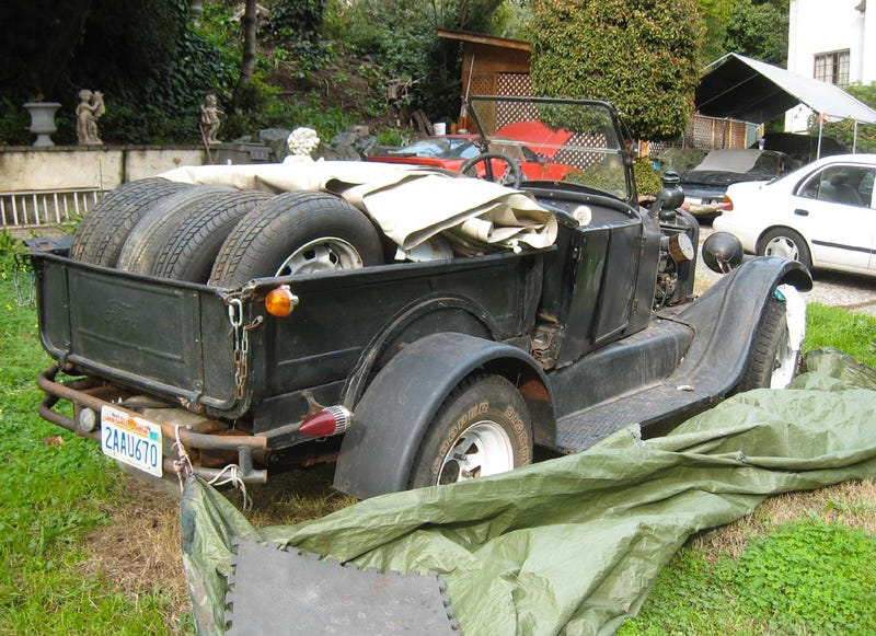 When You Need To Make That Old Truck Run This Weekend: Volvo-Powered Model T!