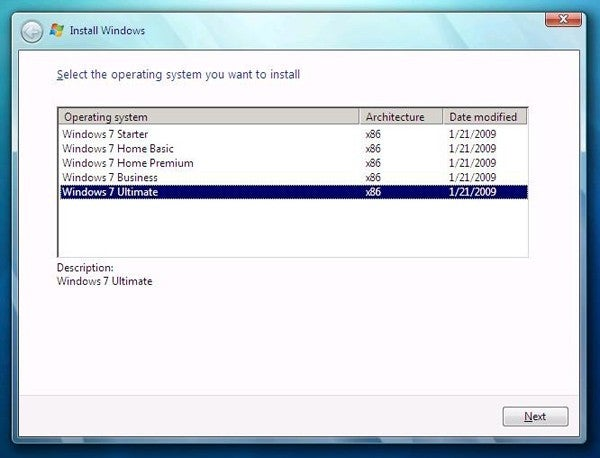Evidence Of Five Windows 7 Retail Versions Surprises No One