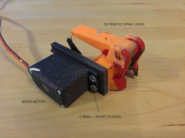 Ahora puedes convertir tu dron en una máquina de pintar grafitis