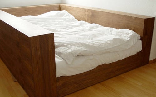 You Won't Feel the Earth Move Under Your Feet in This Quake-Proof Bed
