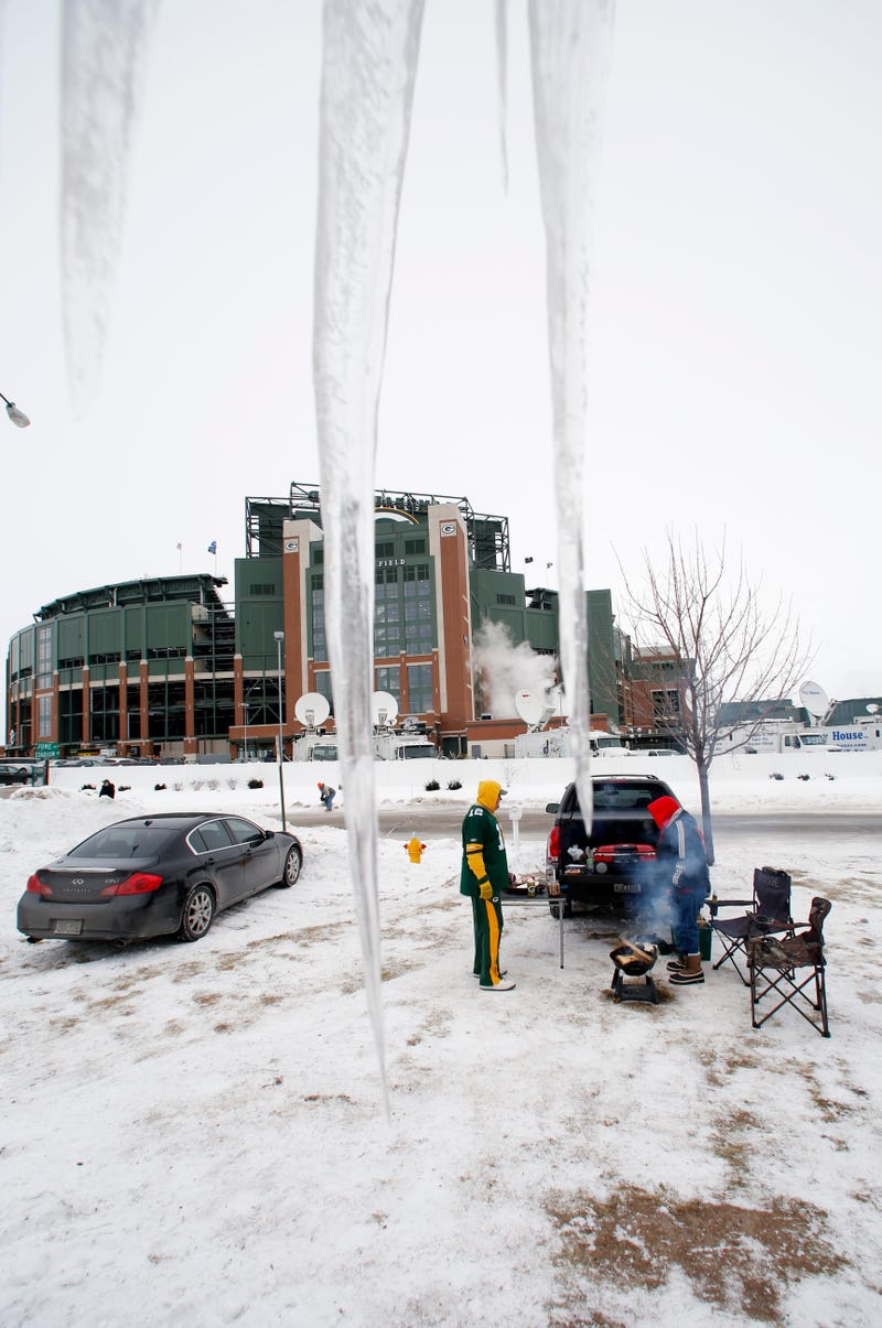 Actual Photos Of Lambeau Field From Today