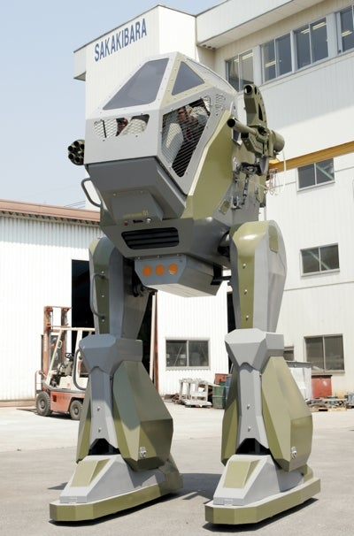 Why Big, Badass Robots (and Mecha) Rule Japan