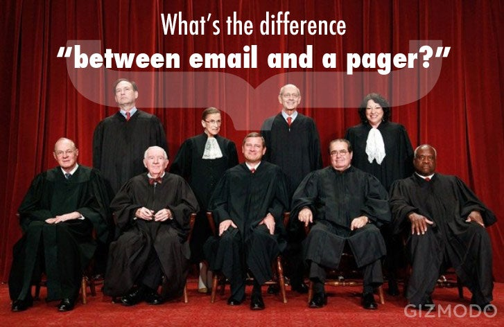 Supreme Court Confused About Tech? Not All Of Them!