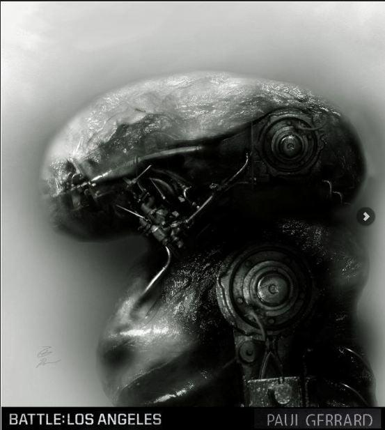 Inside the fiendish designs of Battle: Los Angeles' alien war machines