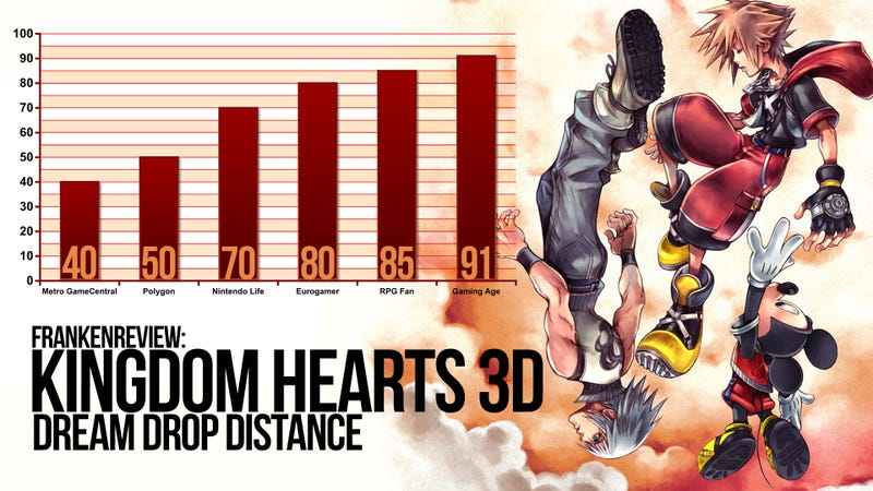 There's a Dreamy Difference Between High and Low Kingdom Hearts 3D Review Scores