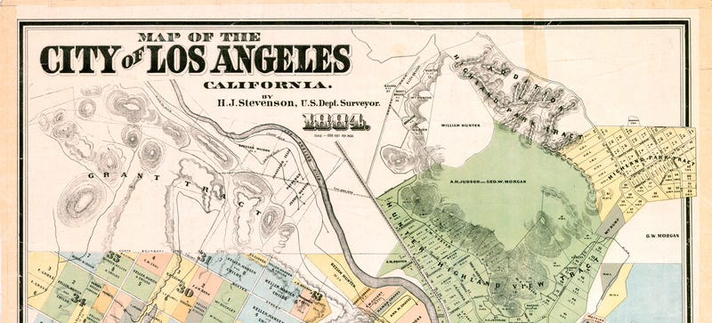 L.A.'s nickname used to be Los Diablos because it was so violent