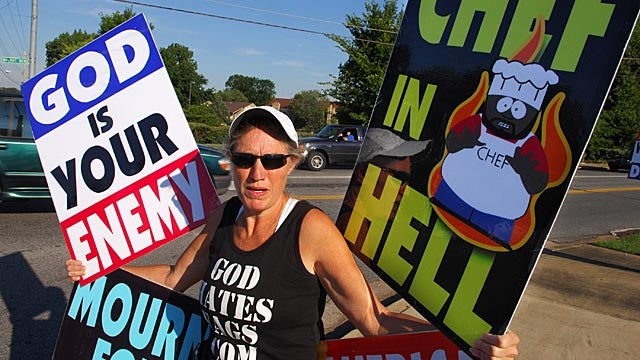 Westboro Baptist Church Taunts Anonymous Hackers: 'Bring It, Cowards'