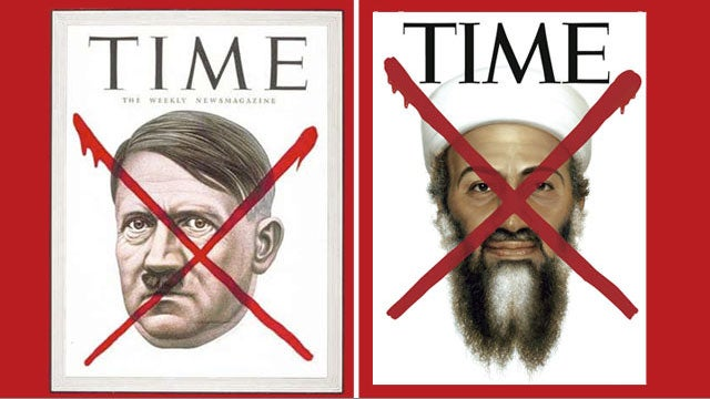 Time Whips Out the Ol' Red X For Bin Laden