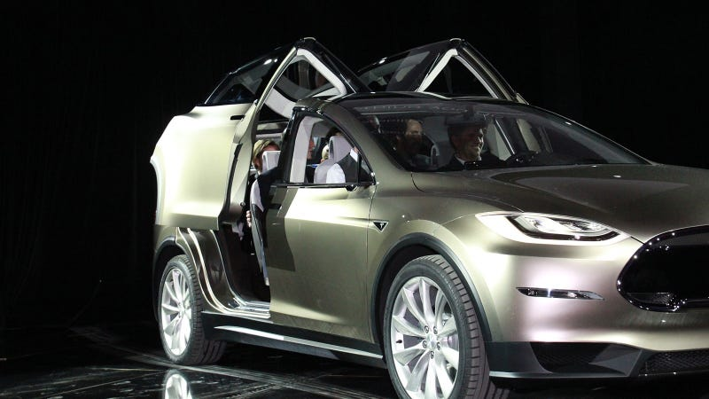 Tesla Model X: Live Photos