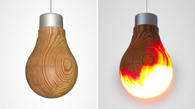 Wooden Lightbulb, Underground Gallery, and More