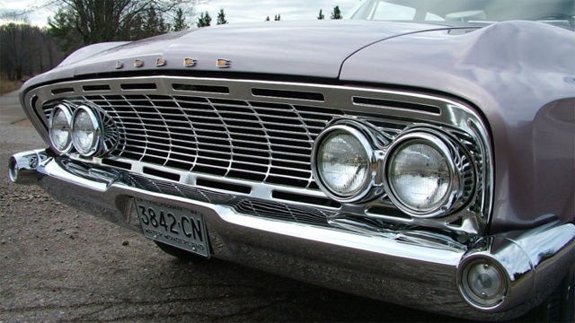 1961 Dodge Dart Seneca is a well restored ugly duckling