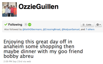 The One Where Ozzie Guillen Threatens To Manage The Cubs