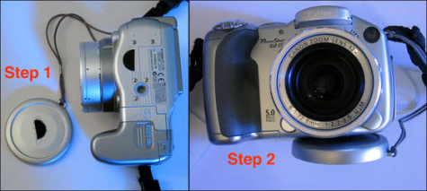 How to keep your lens cap from getting lost